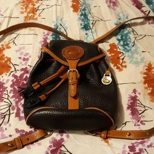 Amazing Vintage Dooney & Bourke Backpack Purse 90s